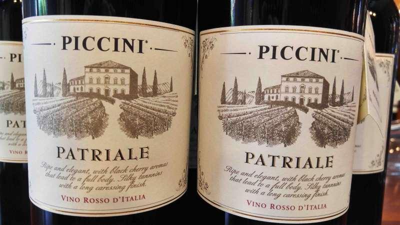 Rượu vang Ý Piccini Patriale