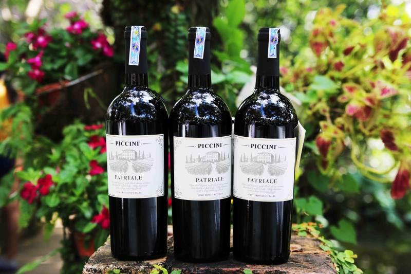 Rượu vang Ý - Piccini Pattriale